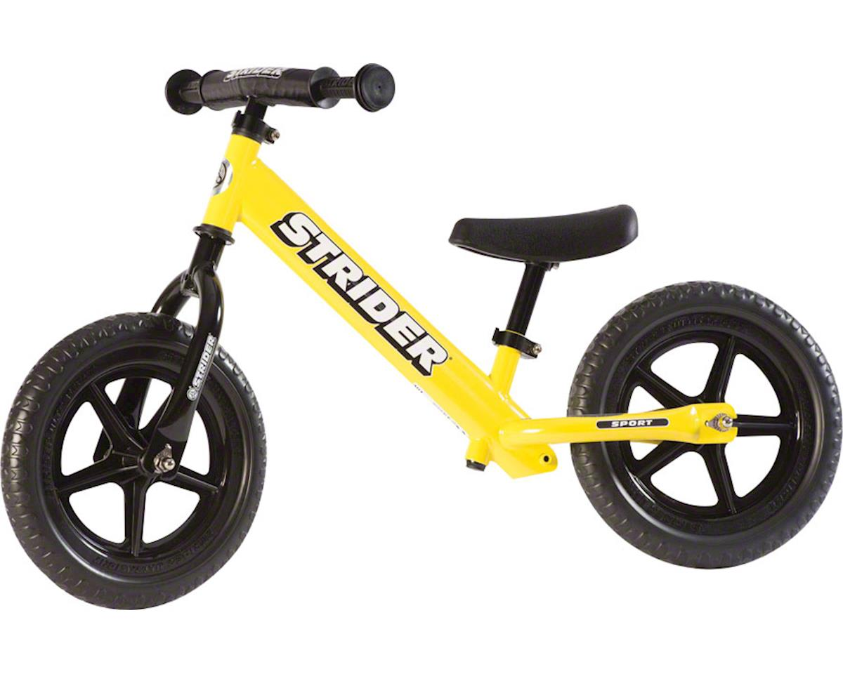 Strider 12 Sport Kids Balance Bike: Yellow