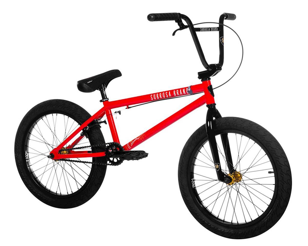 "Subrosa 2020 Sono BMX Bike (20.5"" TopTube) (Gloss Light Red/Gold)"