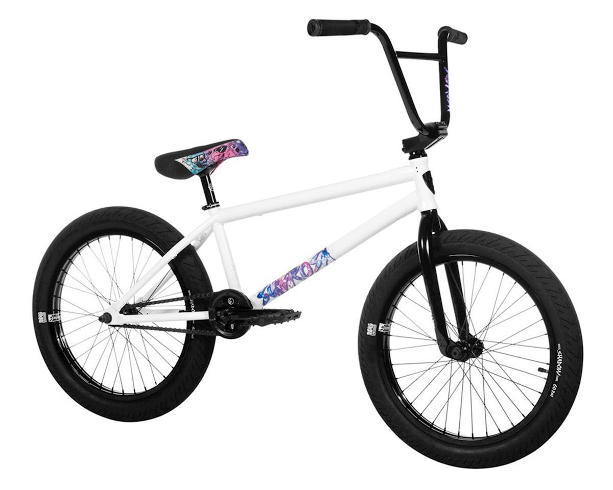 "Subrosa 2020 Novus BMX Bike (Mark Burnett) (21"" TopTube) (White)"