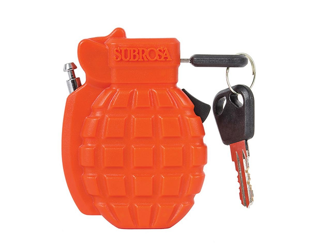 Subrosa Combat Bike Lock (Orange)