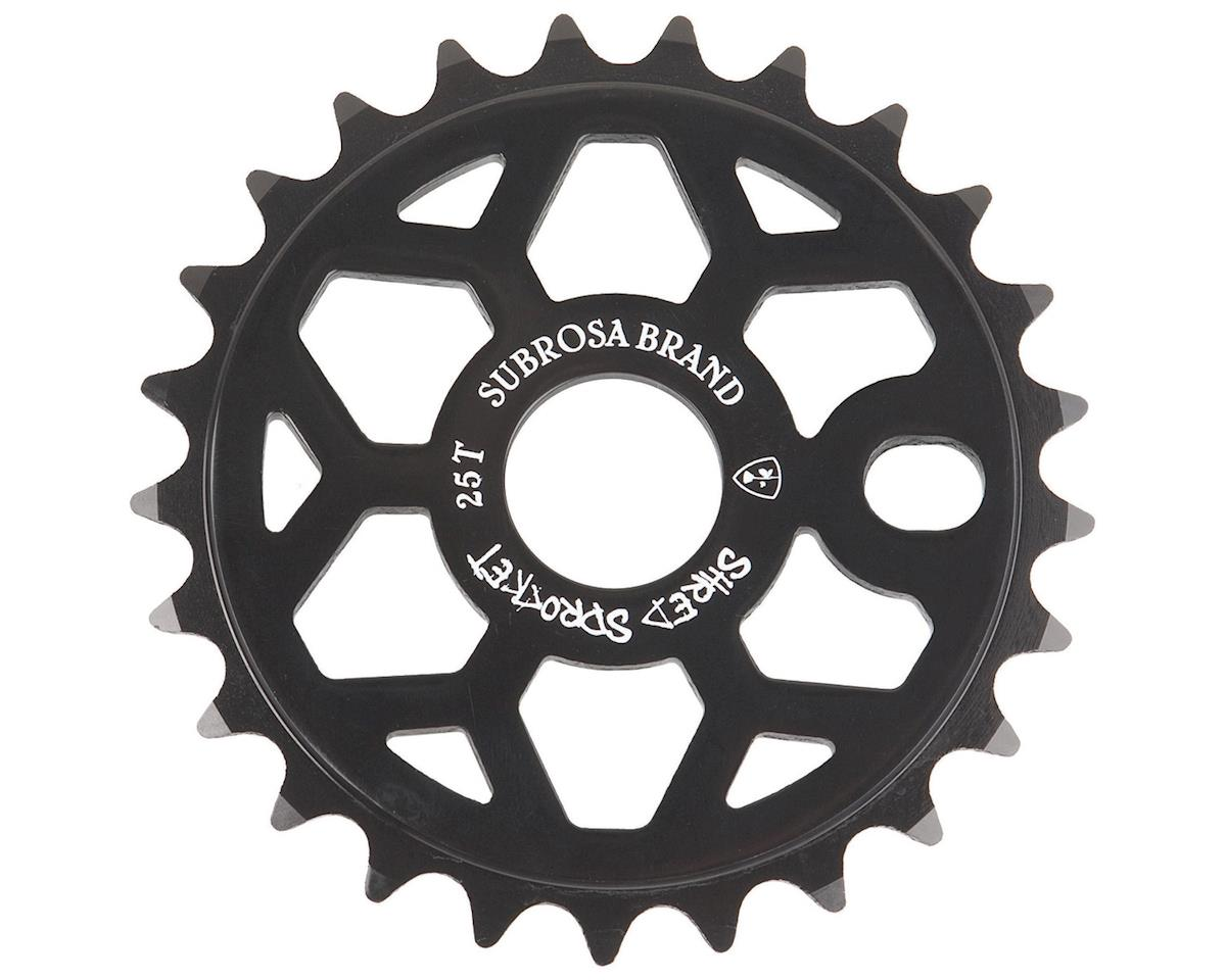 Subrosa Shred Sprocket (Matte Black) (25T)