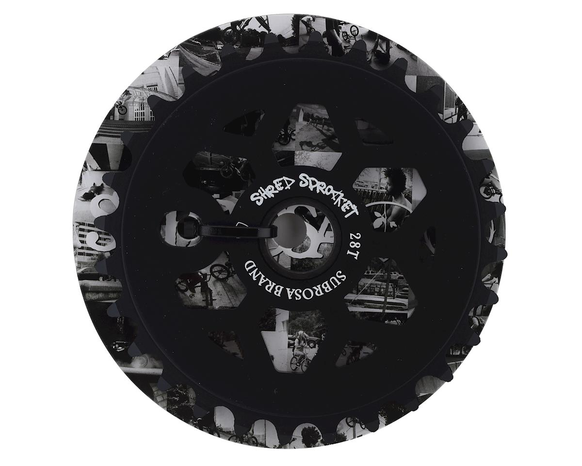 Image 2 for Subrosa Shred Sprocket (Matte Black) (28T)