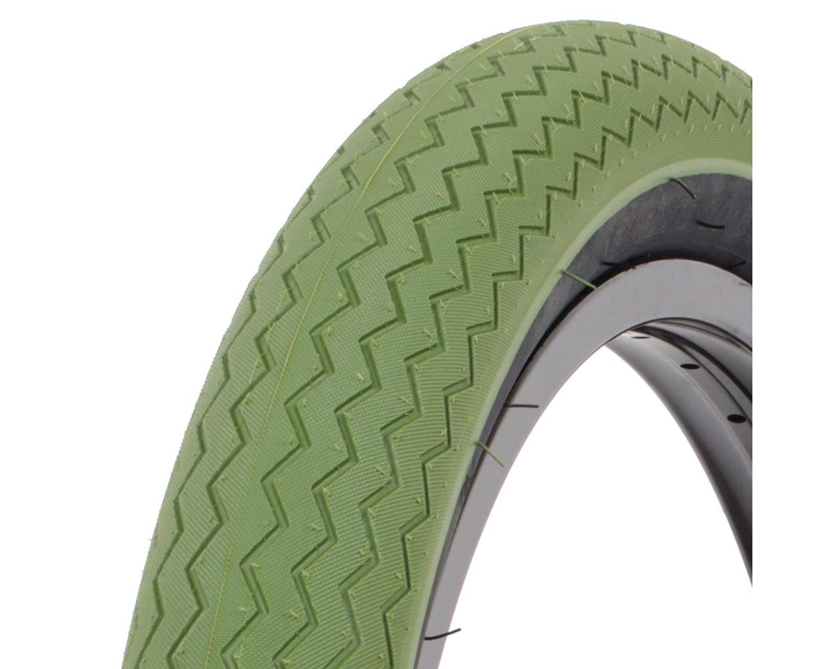 Subrosa Sawtooth Tire (Army Green/Black) (20 x 2.35)