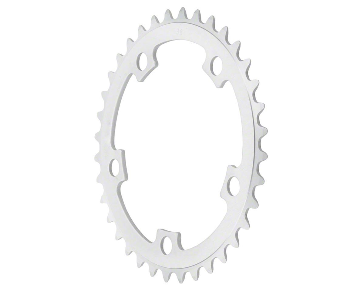 Sugino 46t x 110mm 5-Bolt Mountain Outer Chainring Anodized Silver