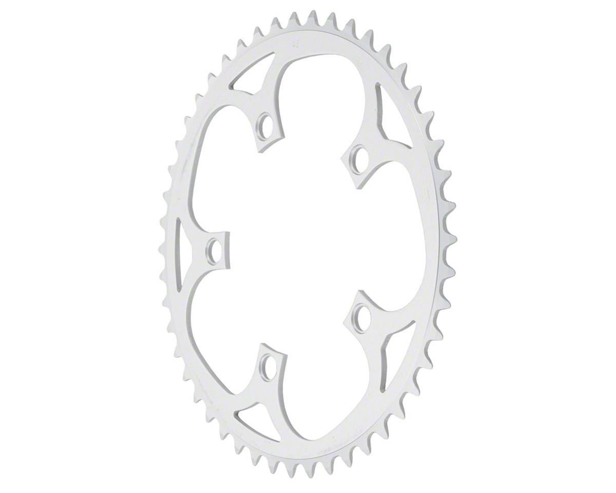 50t x 110mm 5-Bolt Mountain Outer Chainring Anodized Silver