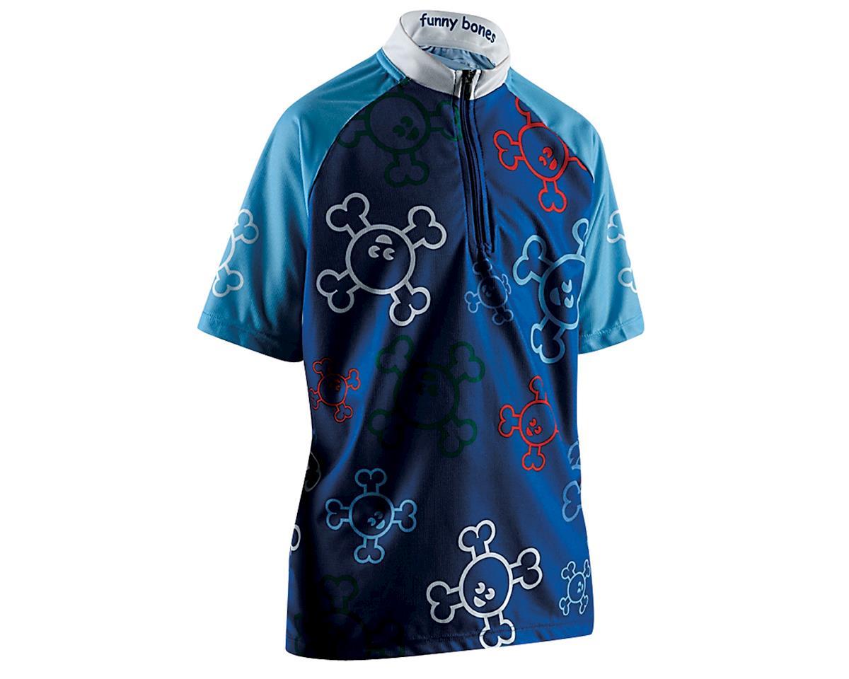 Sugoi Jr. Funny Bones Short Sleeve Jersey (Blue)