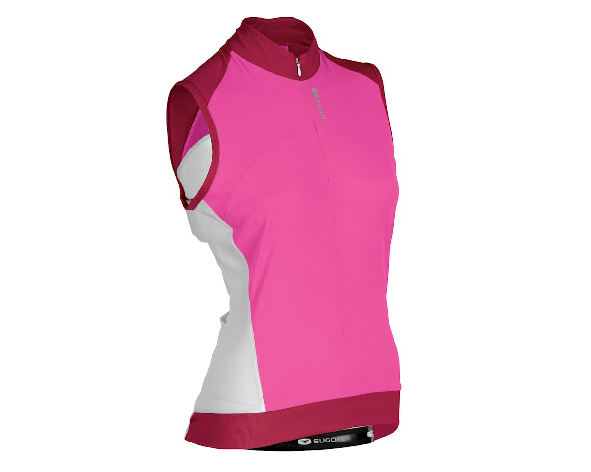 Sugoi Women's Evolution Sleeveless Jersey (White)
