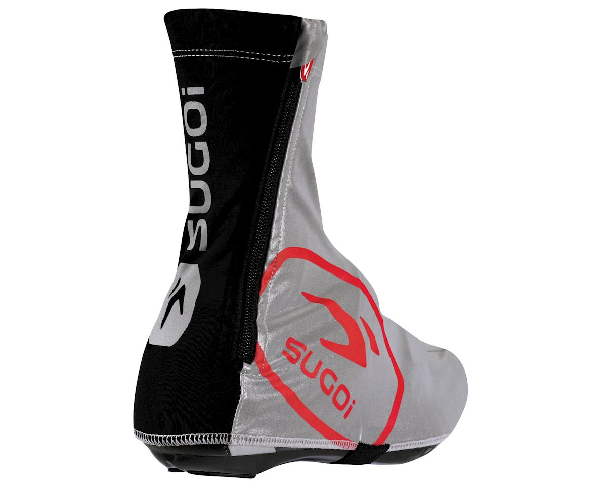Sugoi Zap Shoe Covers (Black/Red)