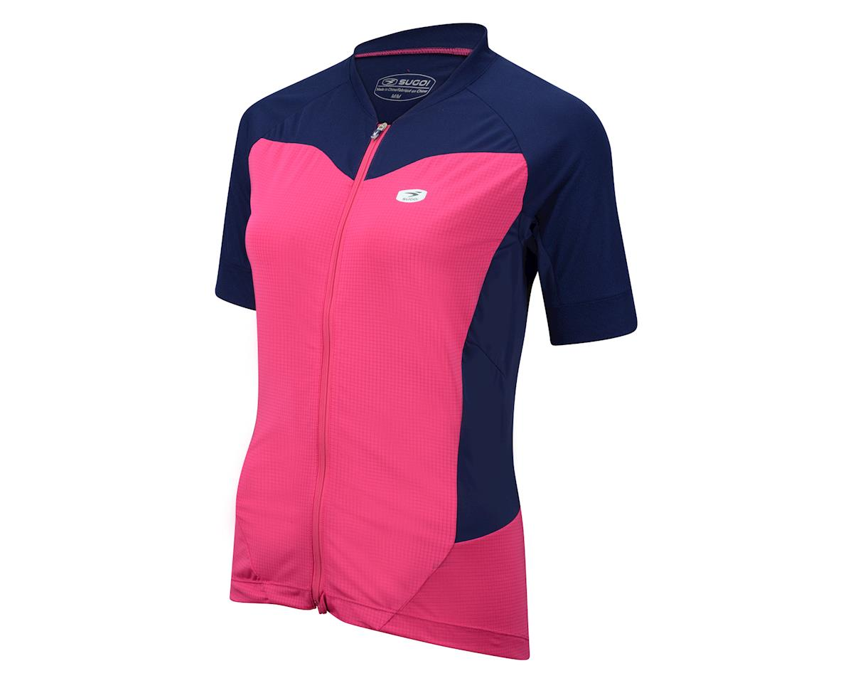 Sugoi Women's Evolution Ice Short Sleeve Jersey (Purple)