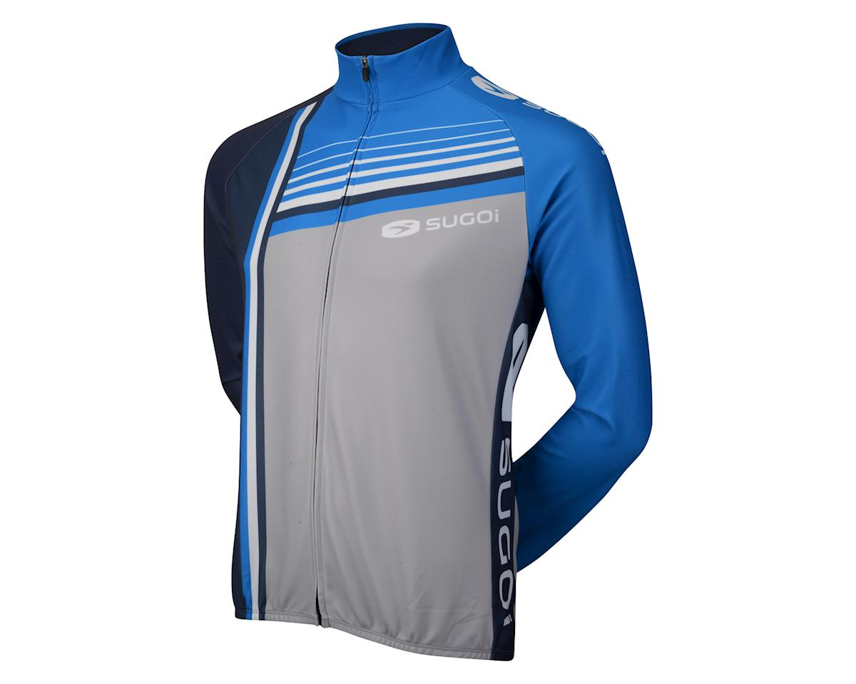 Sugoi Evolution Long Sleeve Jersey (Grey/Blue)
