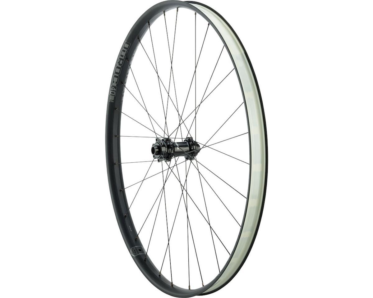 """Duroc 40 Expert Front Wheel: 29"""" 110x15, Black"""