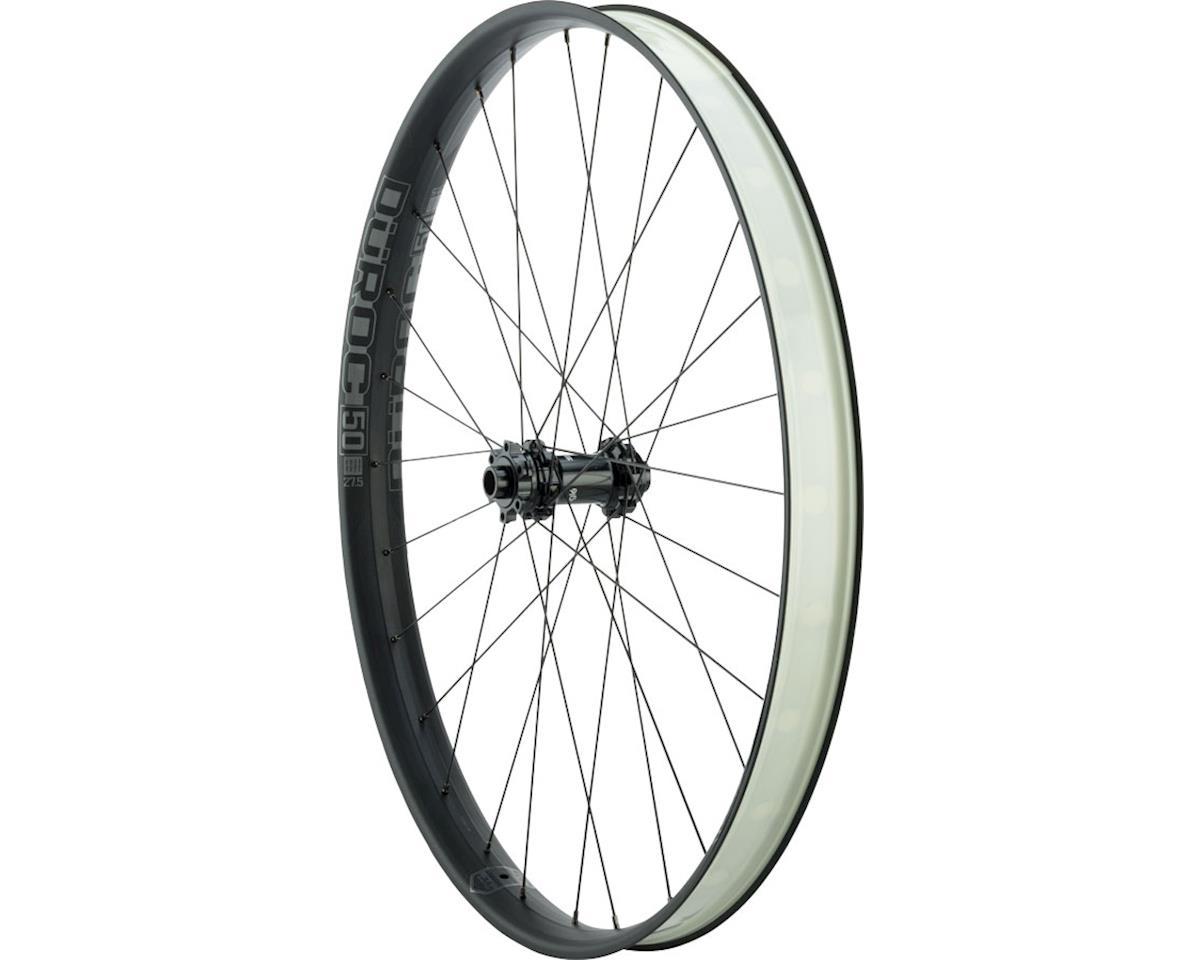 """Duroc 50 Expert Front Wheel: 27.5"""" 110x15, Black"""