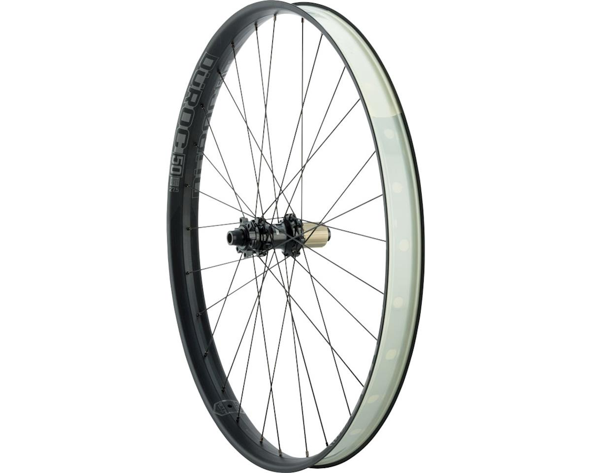 "Duroc 50 Expert Rear Wheel: 27.5"" 142x12, Shimano 11/Sram XD, Black"