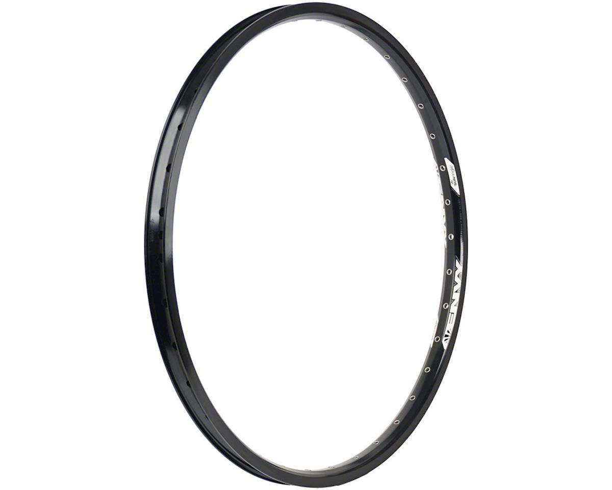 "Envy Rear Rim 20"" 36h Schrader, Black"