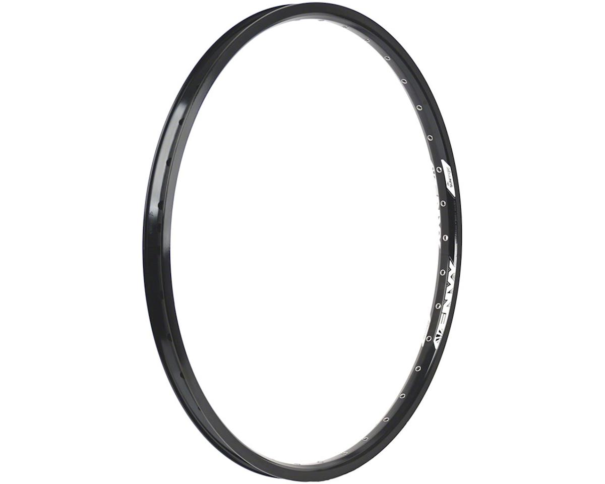 "Envy Rear Rim 24"" 36h Schrader, Black"