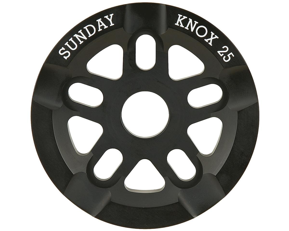 Sunday Knox Guard Sprocket 25t Black Sbc 805 Bk