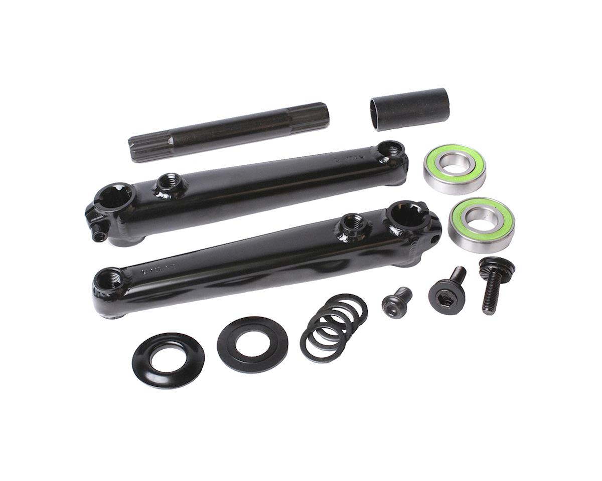Sunday Saker V2 Cranks (Black) (19mm Bottom Bracket Included)
