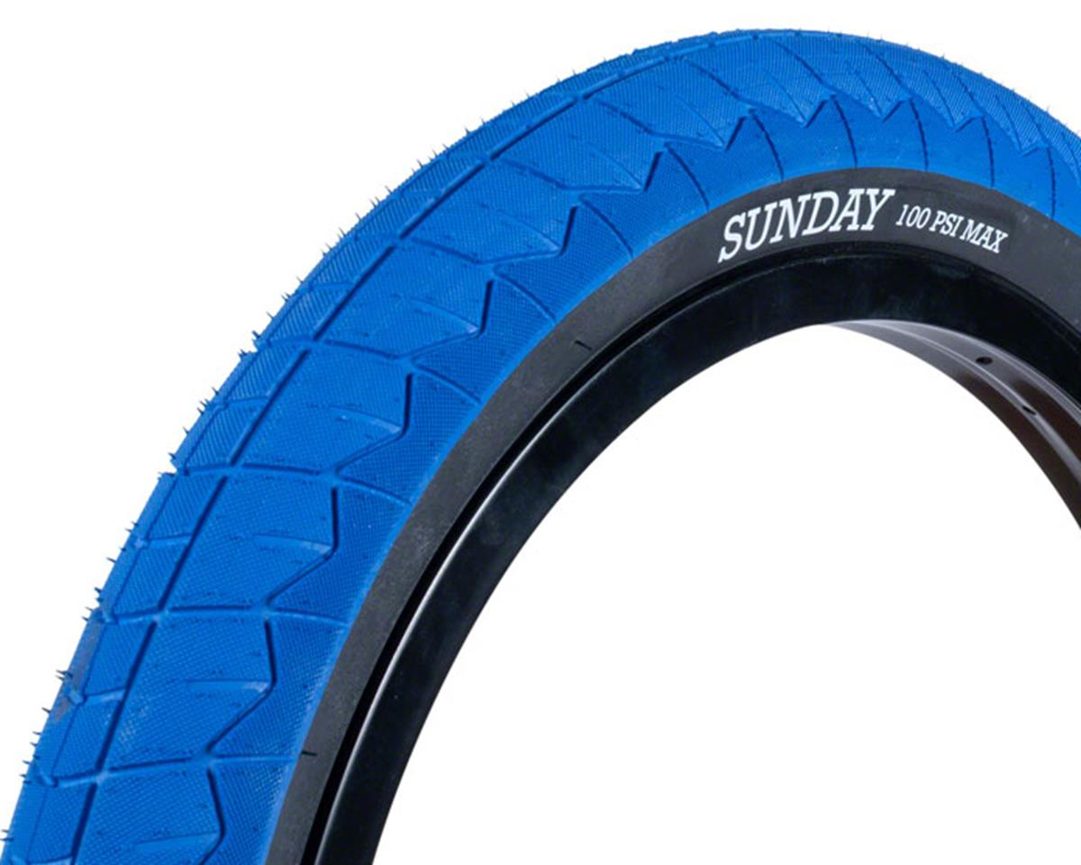 Sunday Current V2 Tire (Blue/Black) (20 x 2.40)