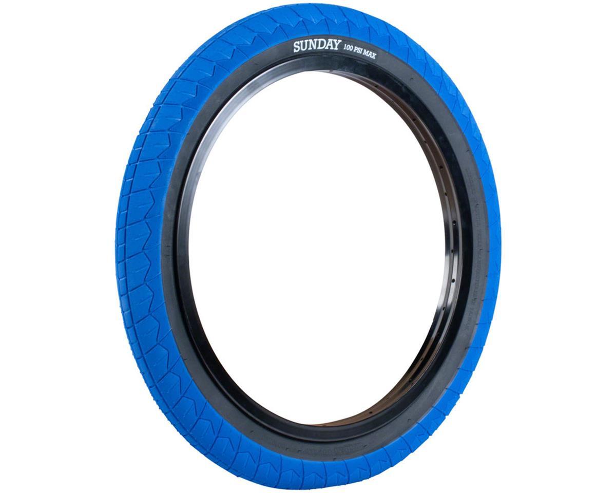 Image 2 for Sunday Current V2 Tire (Blue/Black) (20 x 2.40)