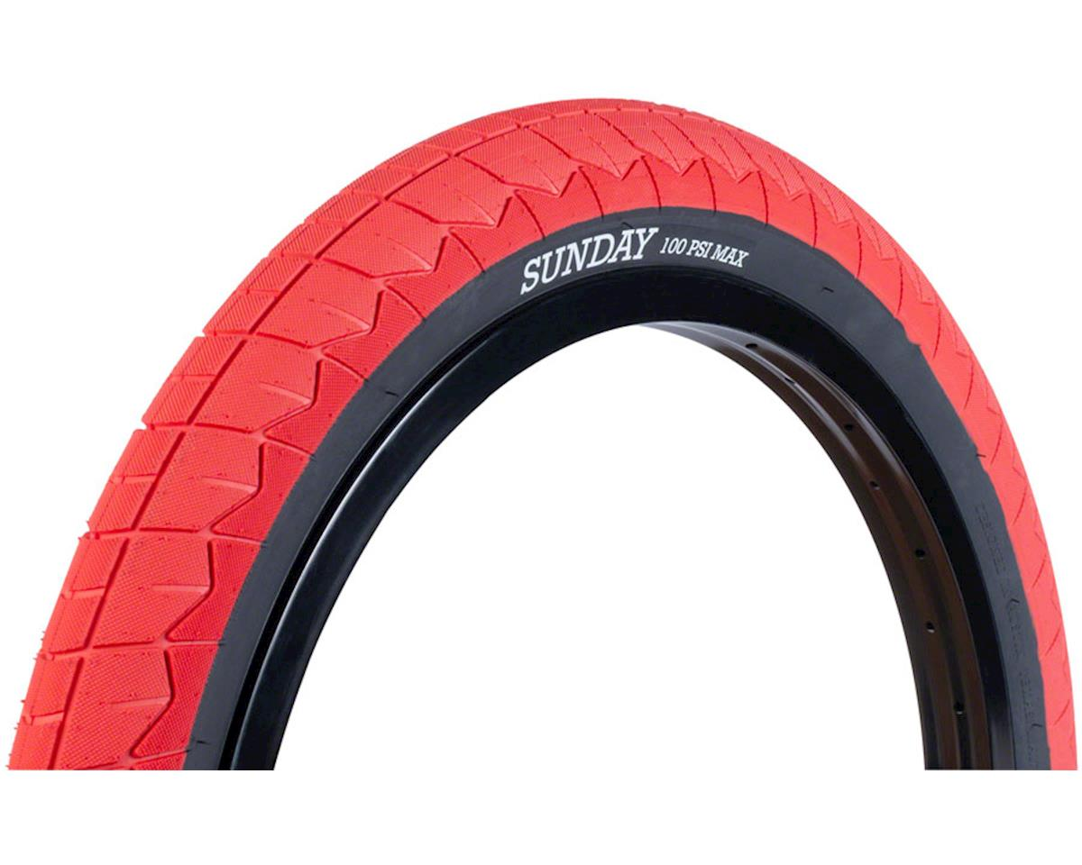 Sunday Current V2 Tire (Red/Black)