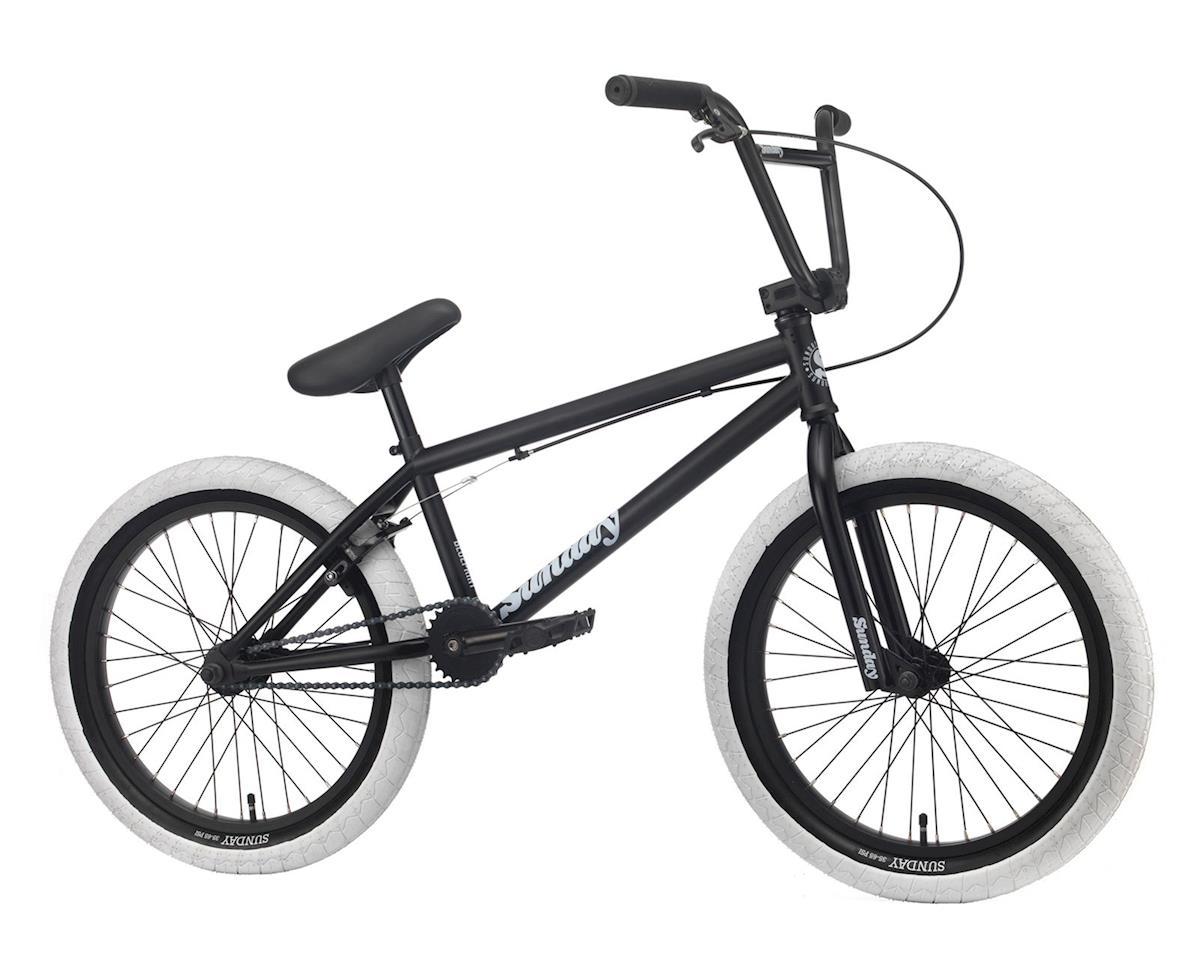 """Sunday 2020 Blueprint Bike (20"""" Toptube) (Matte Black/White)"""
