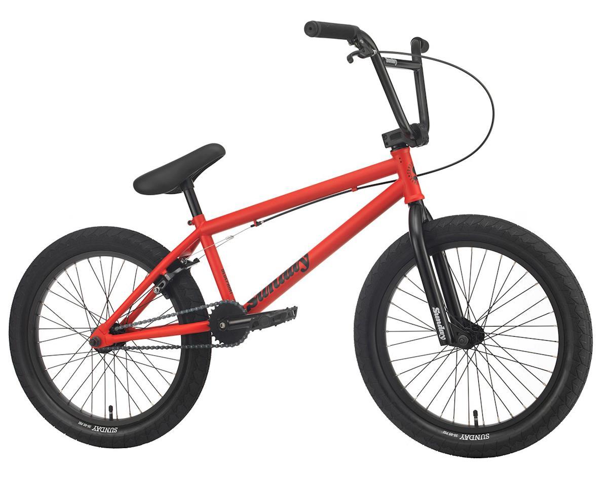 """Sunday 2020 Blueprint Bike (20"""" TT) (Matte Red)"""