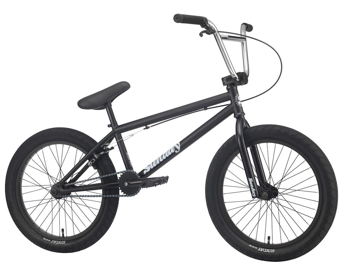 """Sunday 2020 Blueprint Bike (20.5"""" Toptube) (Matte Black/Chrome)"""