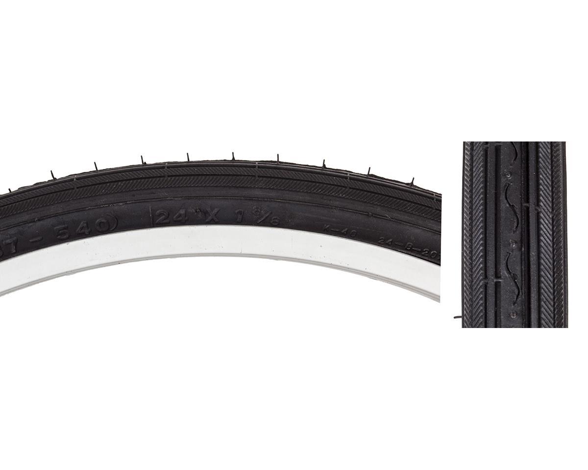 "Sunlite Recreational Road Tire (Black) (24 x 1-3/8"")"