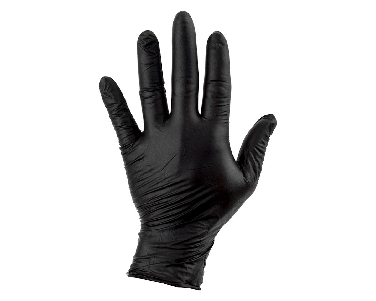 Sunlite Nitrile Mechanic Gloves (Black) (100/Box) | relatedproducts