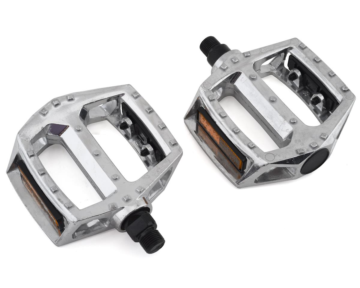 "SUNLITE FOLDING ALLOY SILVER 9//16/"" BICYCLE PEDALS"