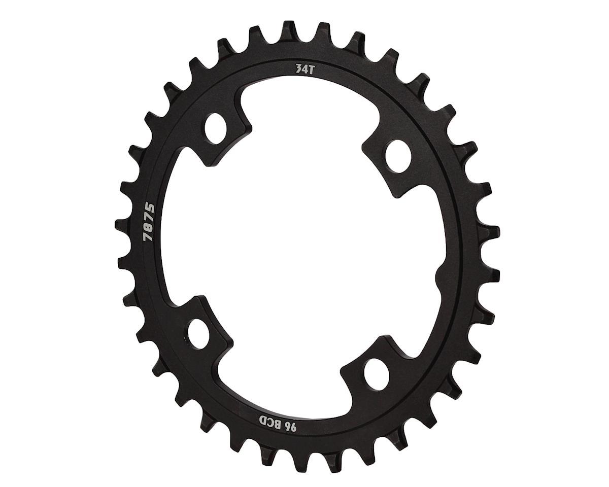Sunrace CRMX0 Alloy Chainring (Black) (34T)
