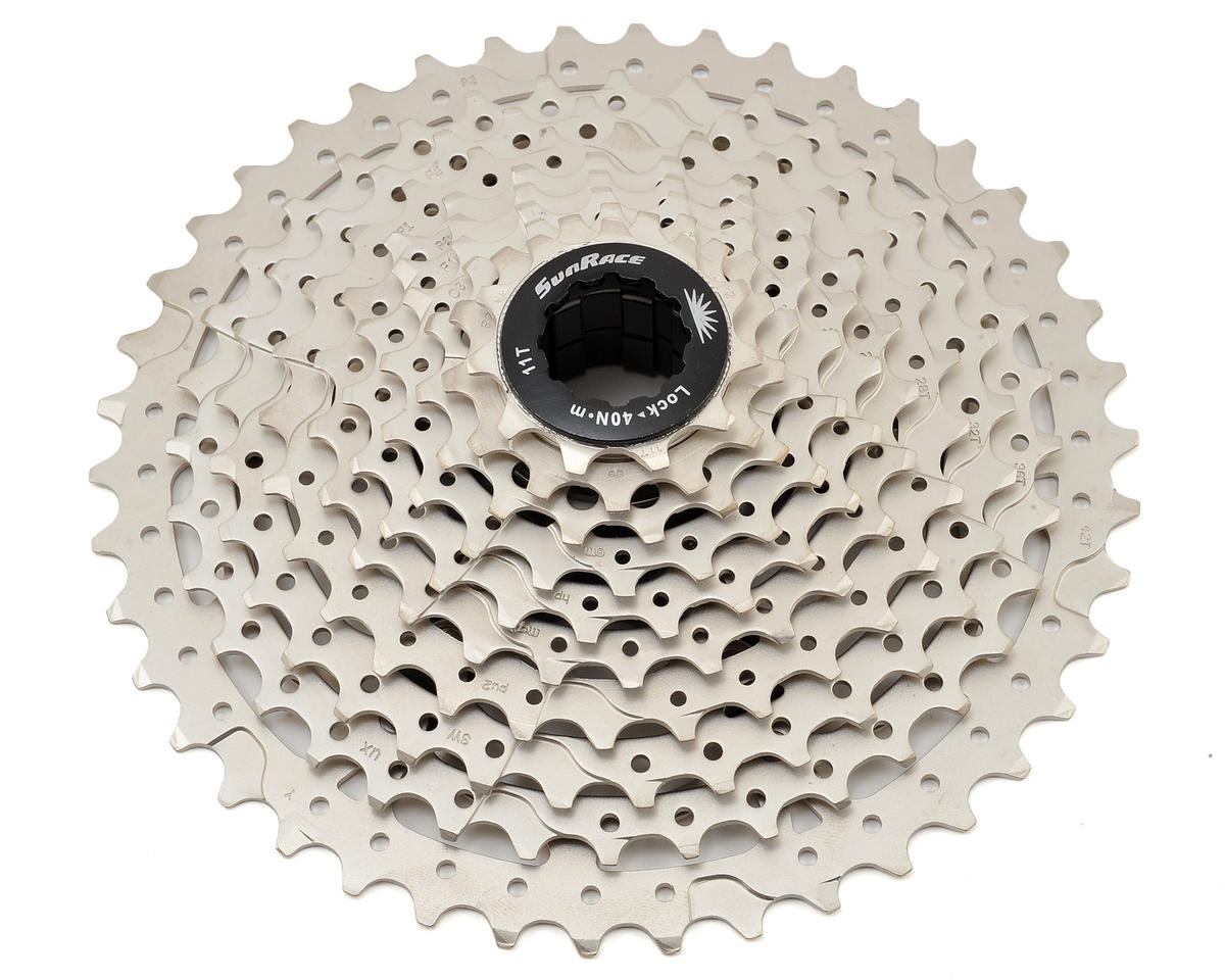 MS3 10-Speed Cassette (11-42T) (Silver)