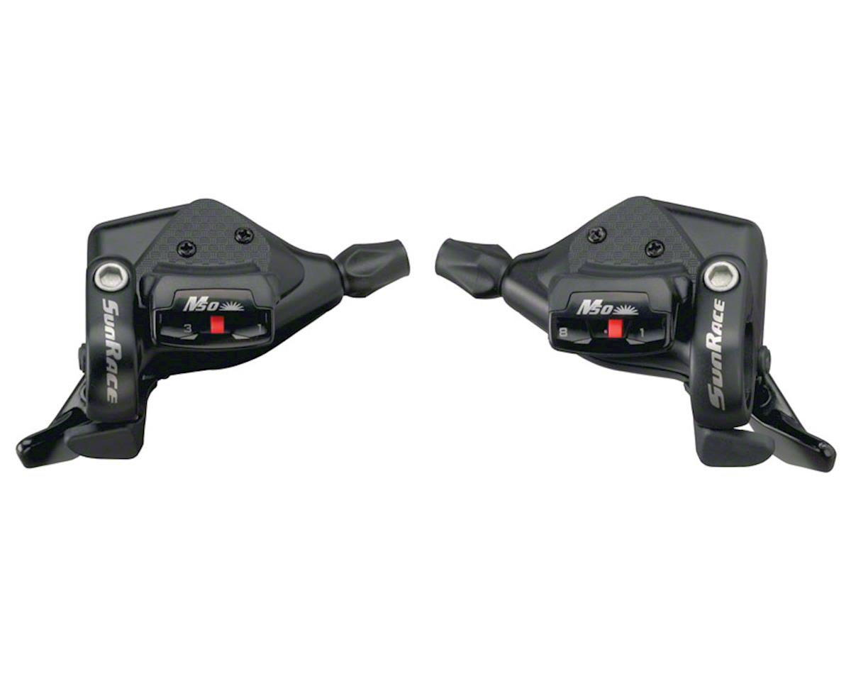 Sunrace M53 8 Speed Shifter Set Black