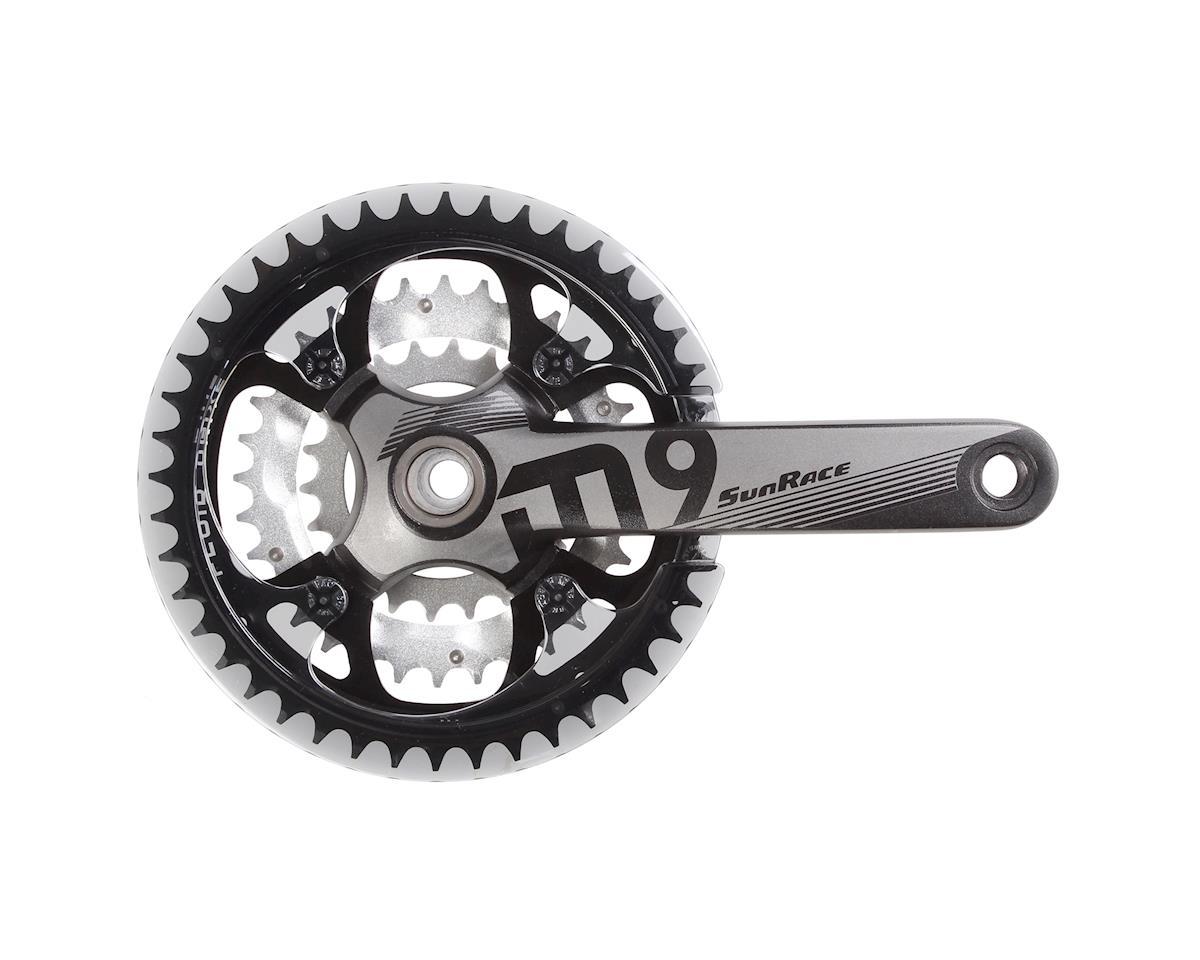 Sunrace FCM954 9sp crankset, 22/32/44t 175mm black