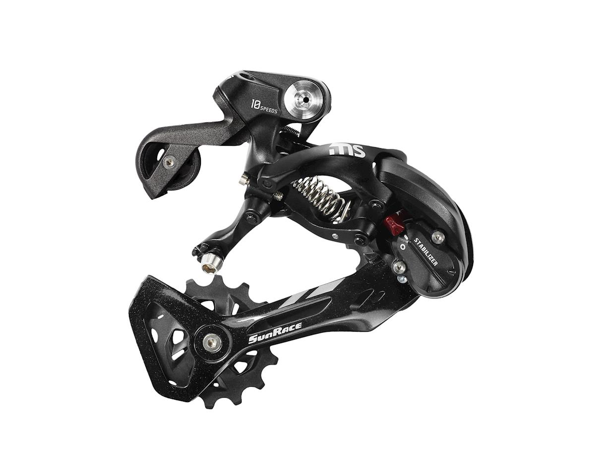 Sunrace RDMS10 10 Speed Rear Derailleur (Black) (Mid Cage)