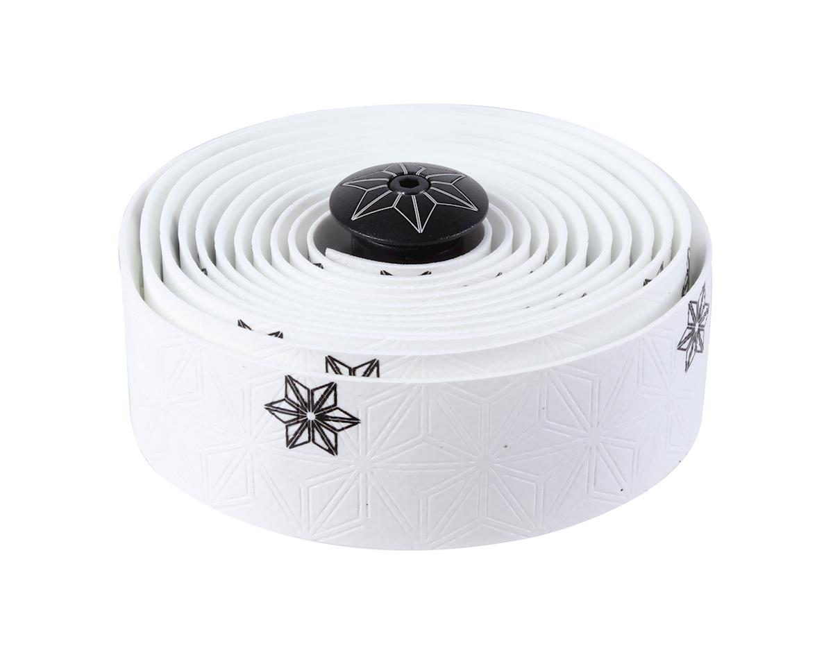 Supacaz Super Sticky Kush Bar Tape (Galaxy White w/ Black)