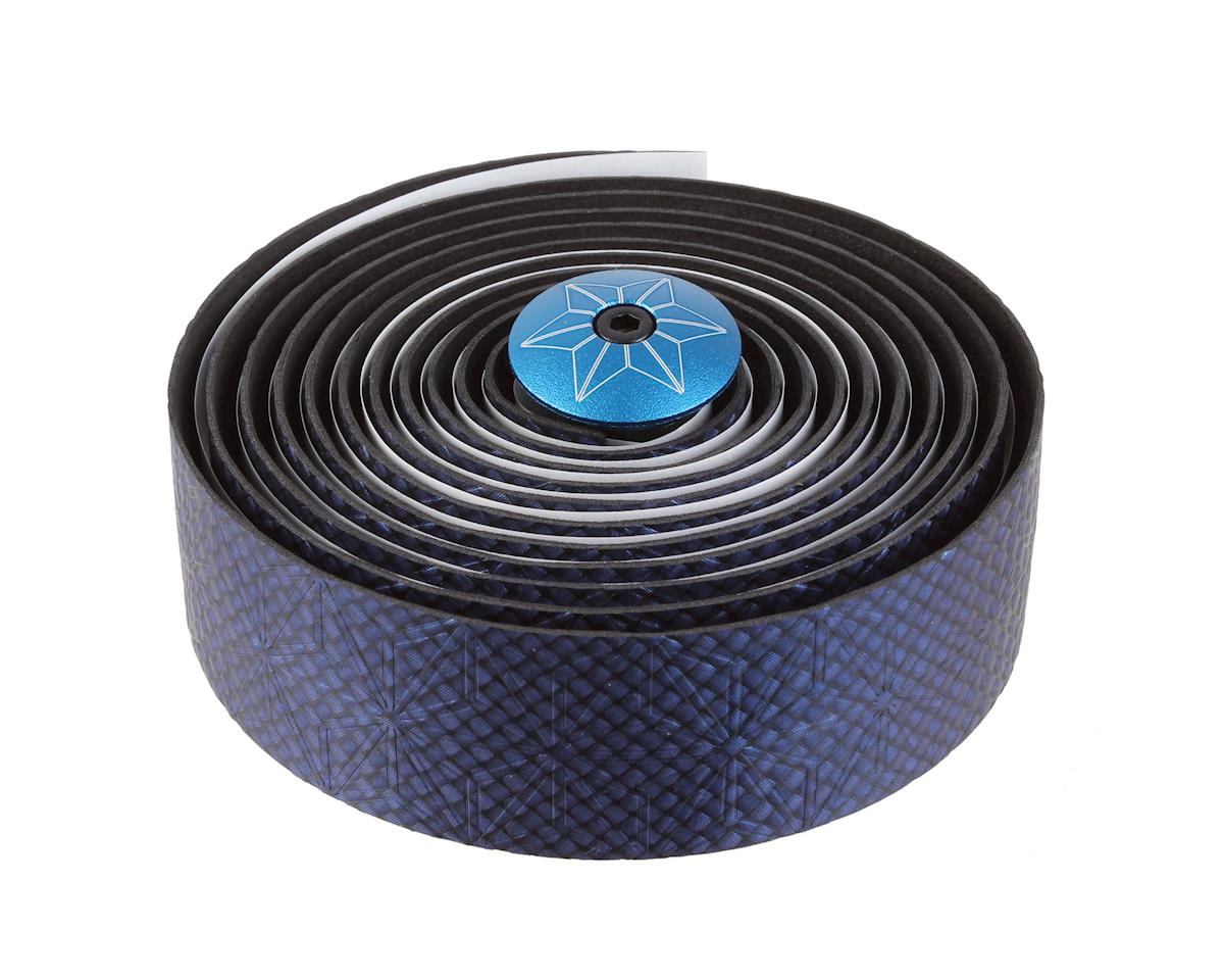 Supacaz Bling Gel Bar Tape (Blue/Carbon/Black)