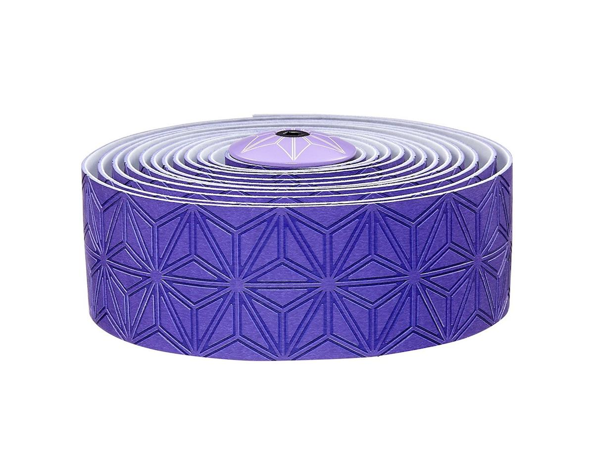 Supacaz Super Sticky Kush Handlebar Tape (Neon Purple)