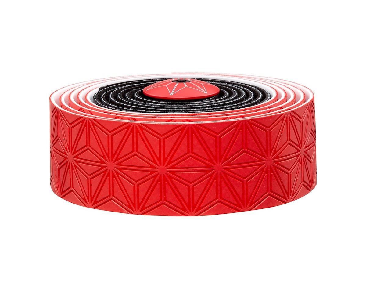 Supacaz Super Sticky Kush Handlebar Tape (Black/Red)