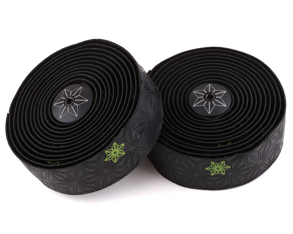 Supacaz Super Sticky Kush Handlebar Tape (Neon Yellow/Galaxy Black)