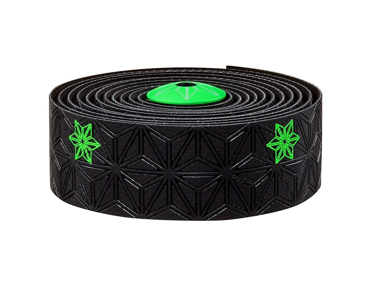 Supacaz Super Sticky Kush Handlebar Tape (Neon Green/Galaxy Black)