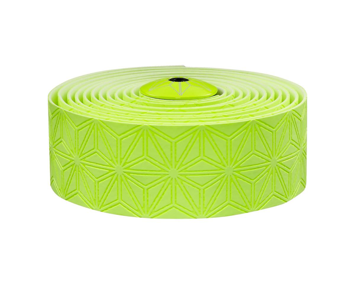 Supacaz Super Sticky Kush Handlebar Tape (Galaxy Neon Yellow)