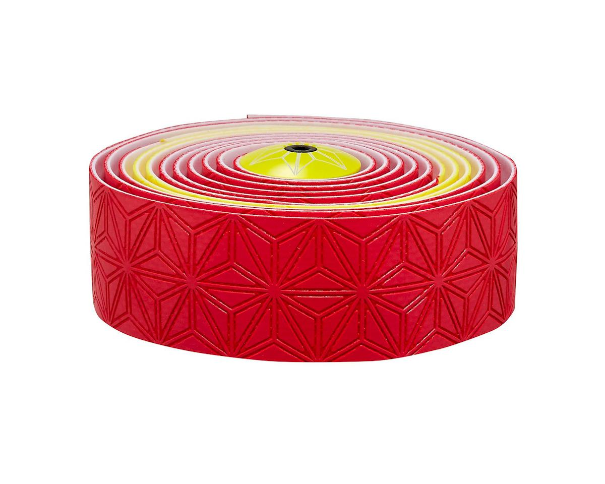Supacaz Super Sticky Kush Handlebar Tape (Spain Red/Yellow)