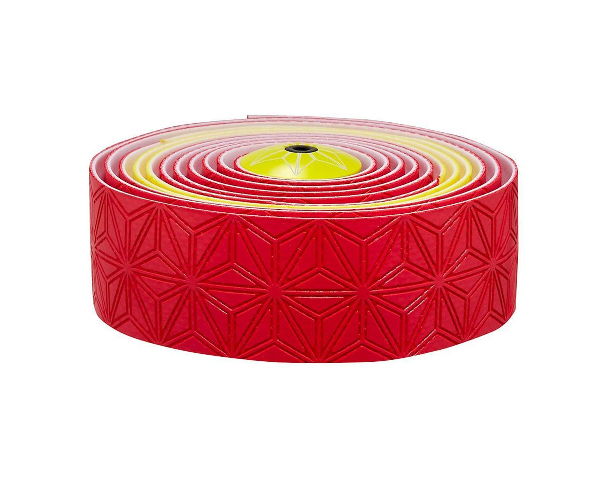 Supacaz Super Sticky Kush Handlebar Tape (Spain Red/Yellow)
