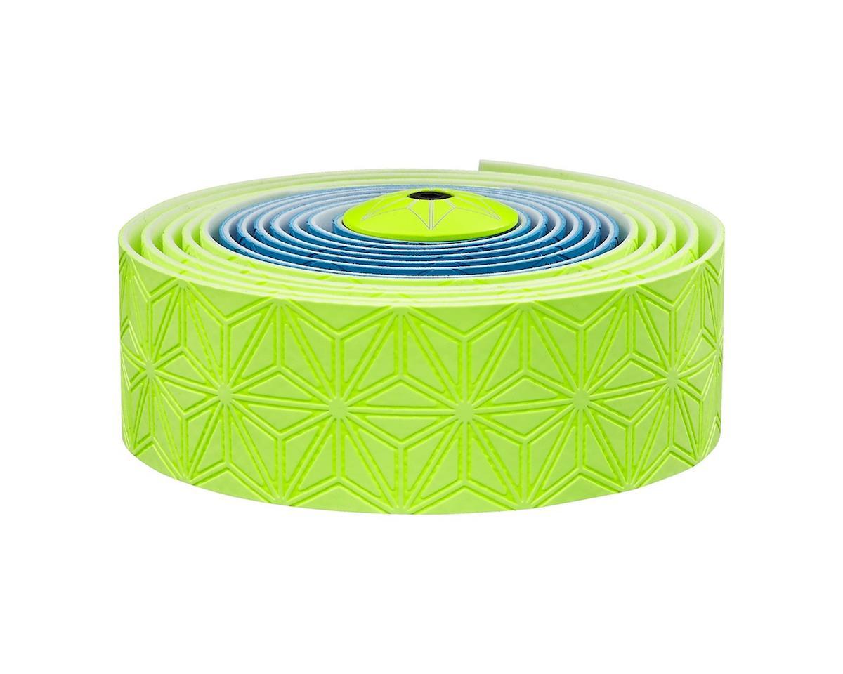 Supacaz Super Sticky Kush Handlebar Tape (Neon Blue & Yellow)