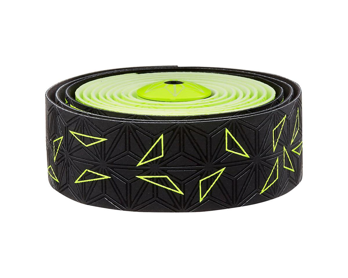 Supacaz Super Sticky Kush Handlebar Tape (Starfade Black & Yellow)