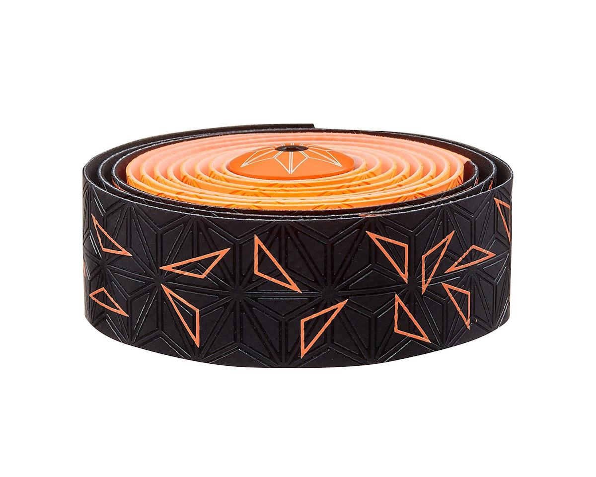 Supacaz Super Sticky Kush Handlebar Tape (Starfade Black & Orange)