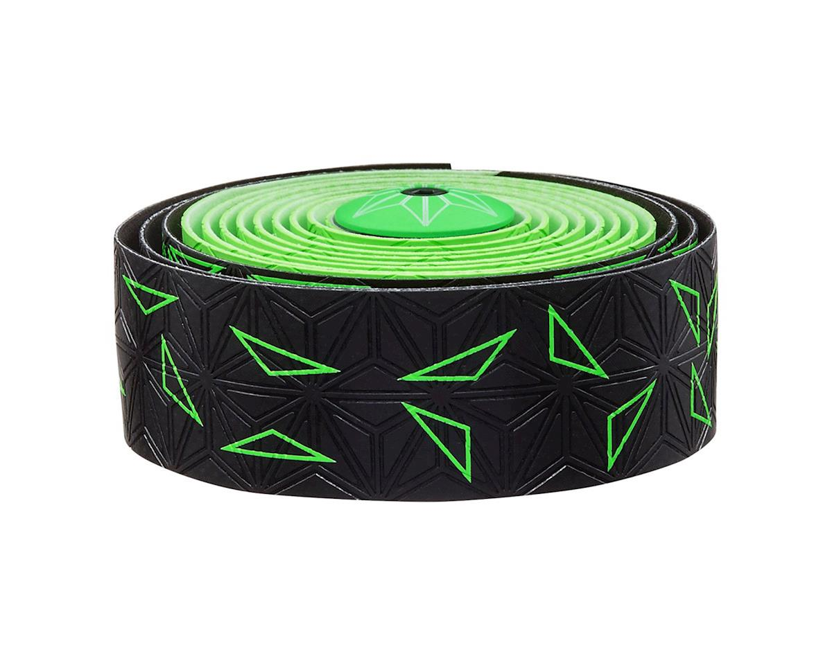 Supacaz Super Sticky Kush Handlebar Tape (Starfade Black & Green)