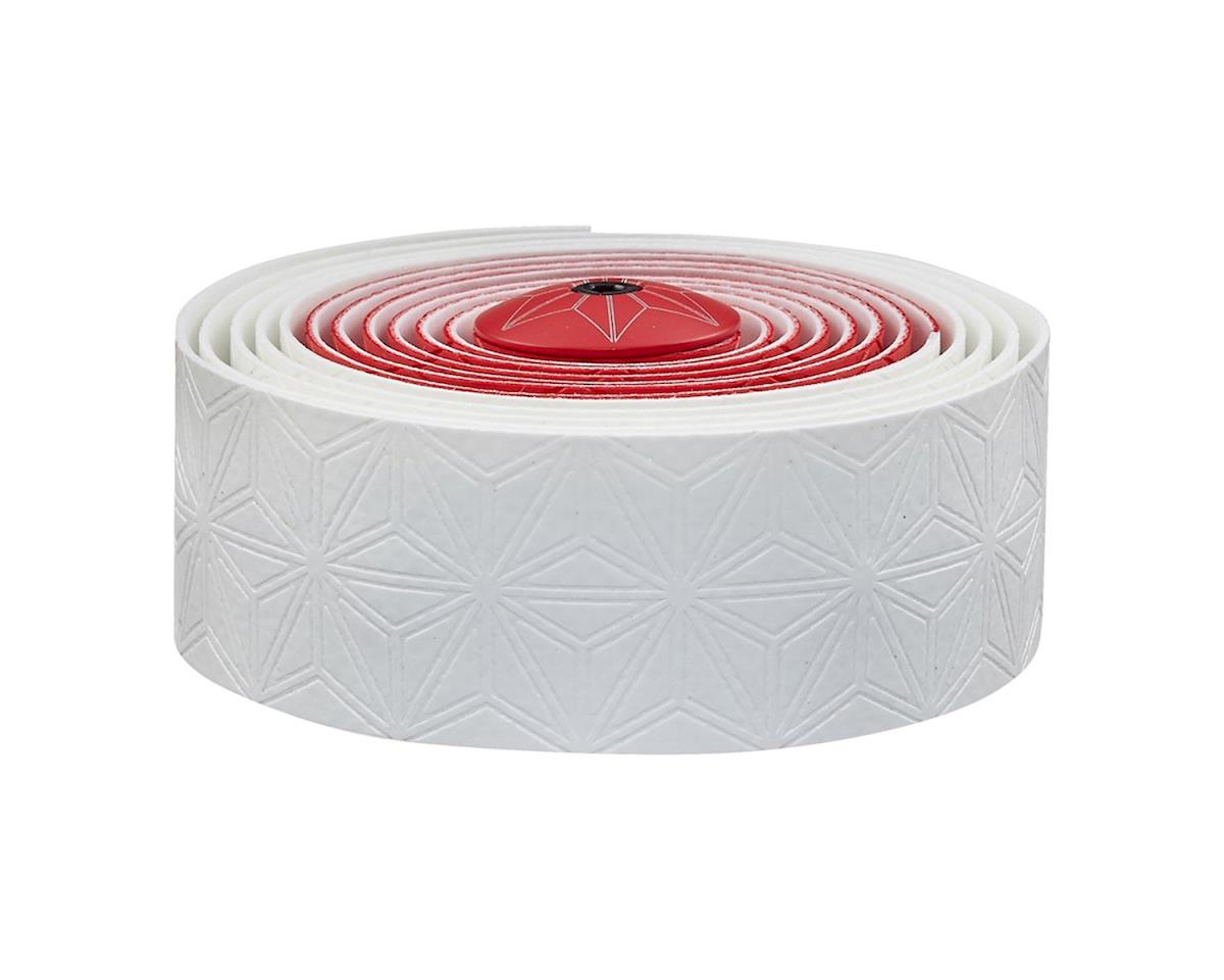 Supacaz Super Sticky Kush Handlebar Tape (White & Red)