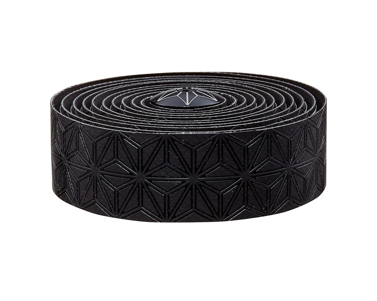 Supacaz Super Sticky Kush Handlebar Tape w/ Silicone Gel (Black)